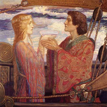 Tristan and Isolde  John Duncan, 1912