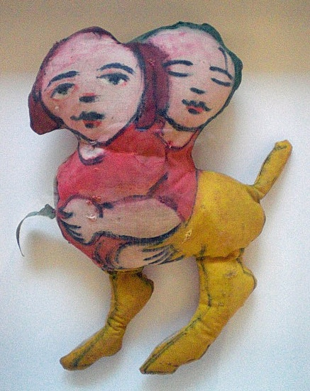 Mirka Mora :: Handmade Painted Doll circa 1970's