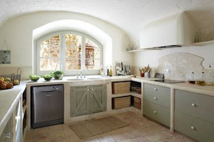 diseño de cocinas rustica