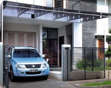 Desain Carport Minimalis  Kumpulan Gambar  Rumah Minimalis