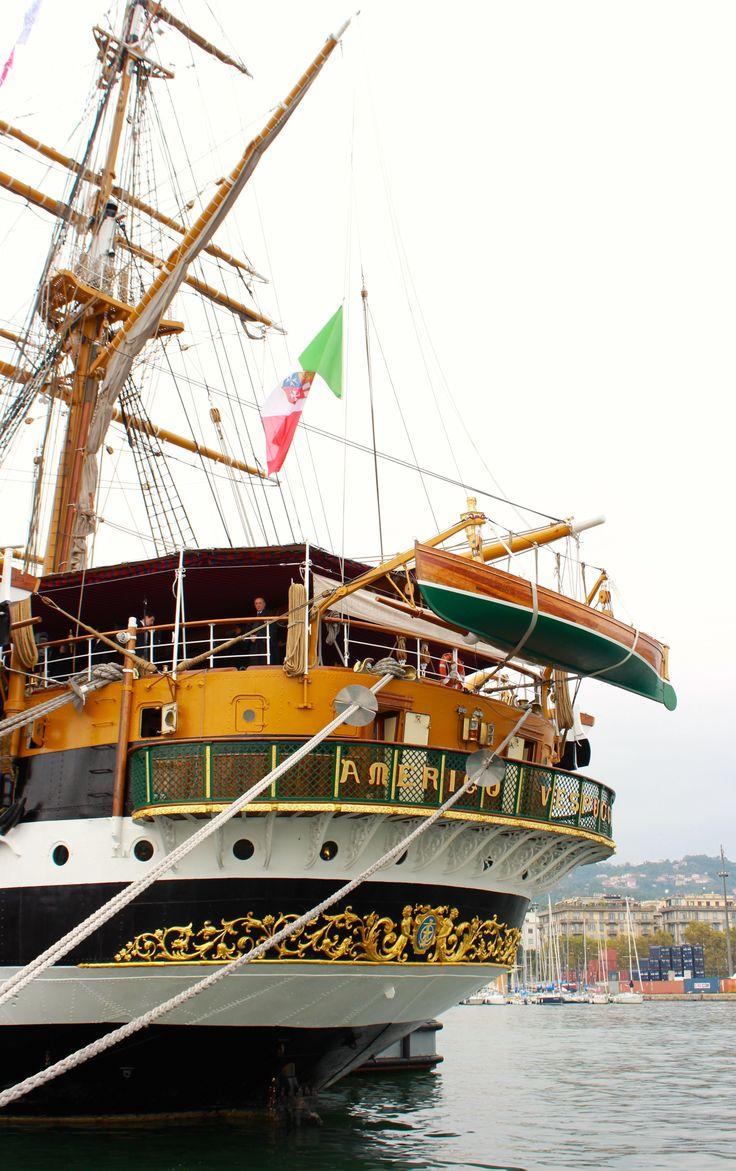 The italian  Amerigo Vespucci