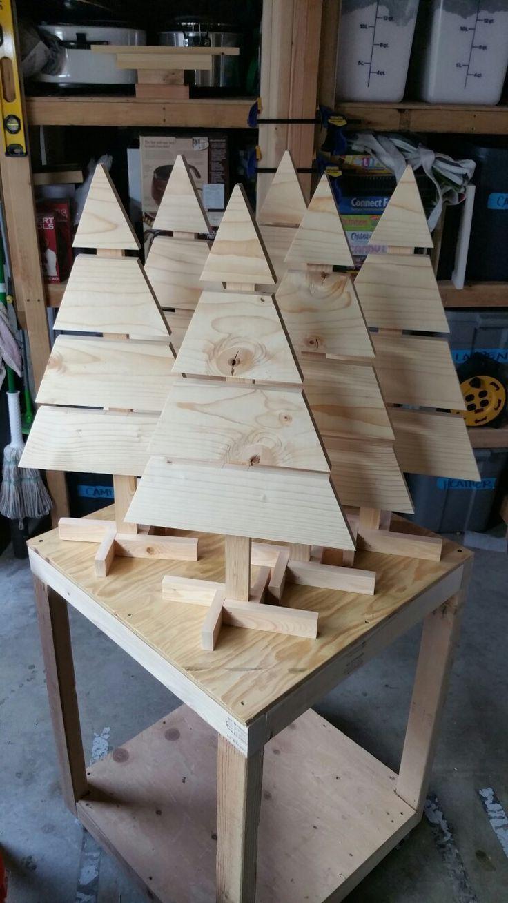 Palette arbres de Noël, dessus de table