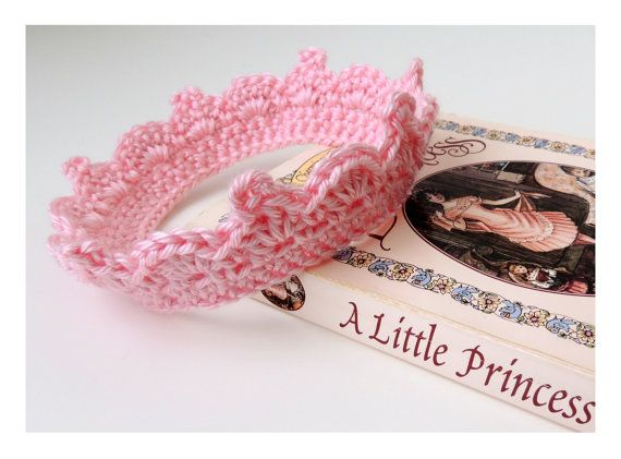 17 Best images about CROCHET BABY TIARAS & CROWNS on ...
