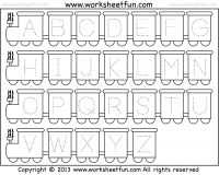 100+ FREE LETTER TRACING WORKSHEETS