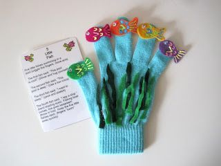 GreenChicken31: Fish Finger Glove Puppet