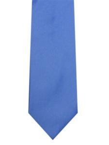 Cornflower Blue Mens Wedding Tie Satin add Hankie | eBay | £7,95