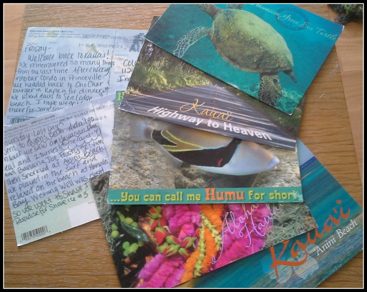 Write and mail yourself a postcard everyday you are on vacation to remember the little fun things you did :)