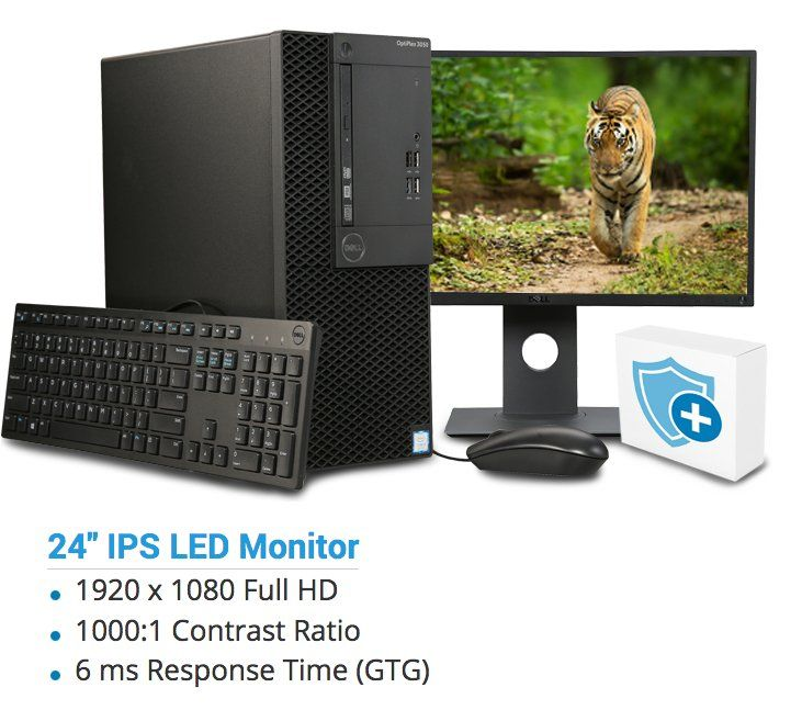 Win a DELL Desktop Computer OptiPlex 3050 Intel Core i5 7th Gen 7500 and more prizes all worth $2,564.15. Only one Entry may be submitted per day.
