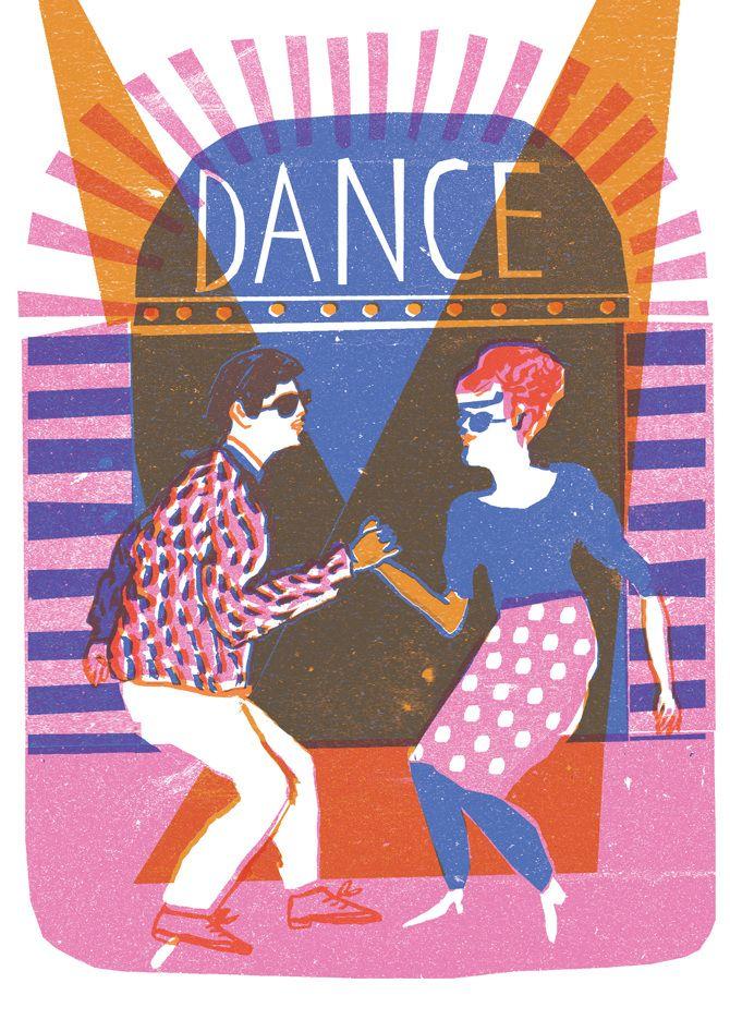 Risograph Postcards - Louise Lockhart | Illustration | Design | The Printed Peanut