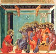 Washing of the Feet 1308-11  by Duccio Di Buoninsegna
