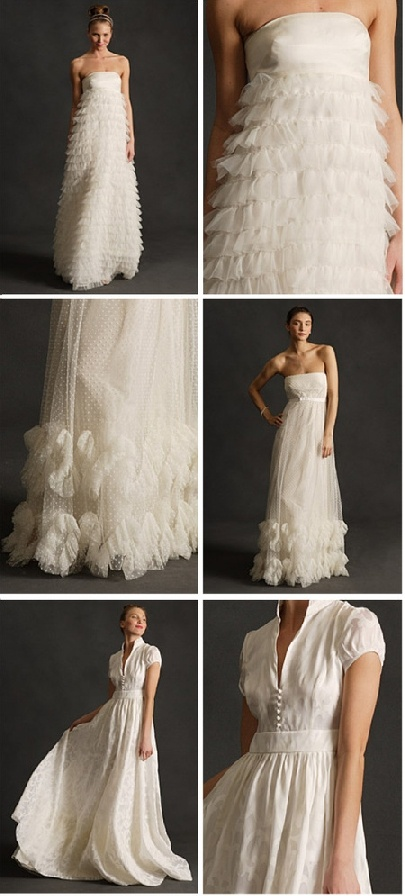 crew wedding gowns