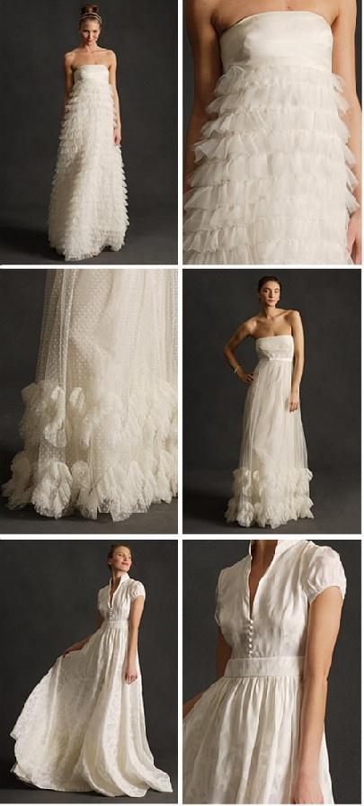 crew wedding gowns
