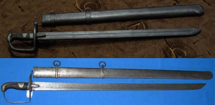 1796 Heavy Cavalry Sword - LARP remake