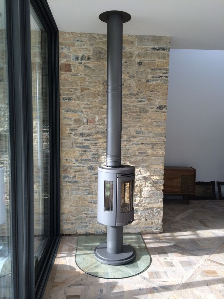 Contura 556 On A Rotating Pedestal Gather Round The Fire