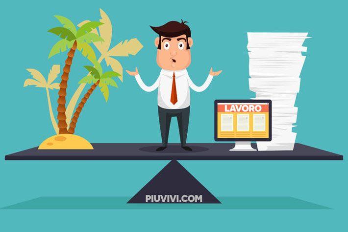 Equilibrio Vita-Lavoro: 5 Consigli Per Migliorarlo >>> https://www.piuvivi.com/salute/migliorare-equilibrio-vita-lavoro-come-fare-consigli-suggerimenti.html <<<