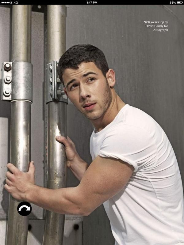 Nick Jonas for ATTITUDE Magazine | December 2014
