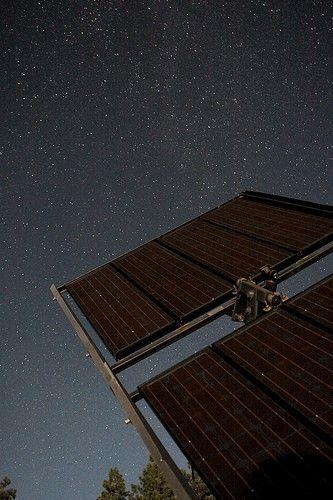 Et si les panneaux solaires fonctionnaient aussi la nuit?