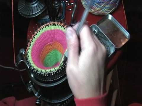 Ribbed Sock on Circular Knitting Machine (Part1 of 3)