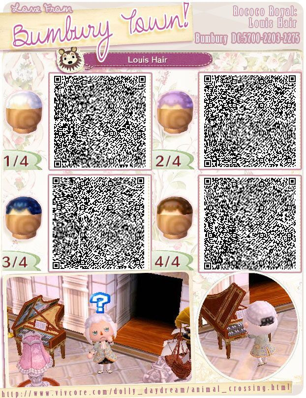 Animal Crossing New Leaf Hair Guide (English) - jvgs.net