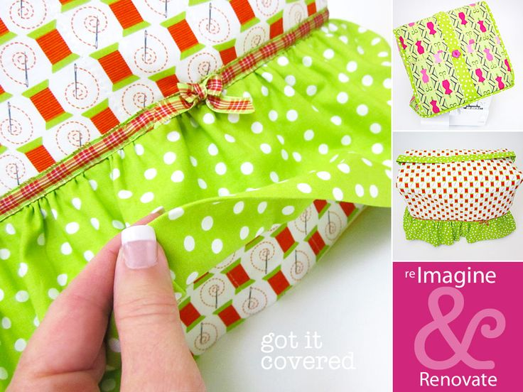 Re-imagine & Renovate: Sewing Machine and Serger Covers | Sew4Home