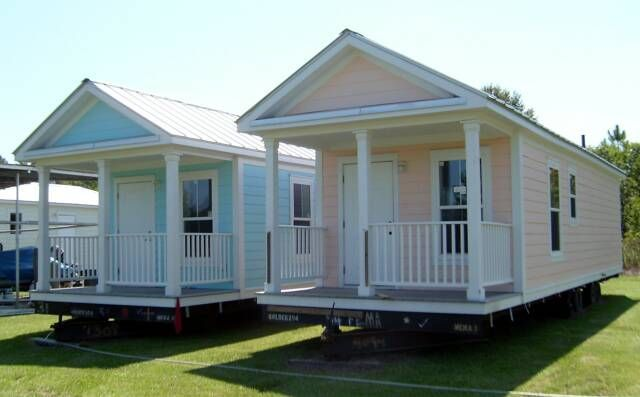 Small modular cottages one is also handicap approved so for Modular homes with inlaw apartments