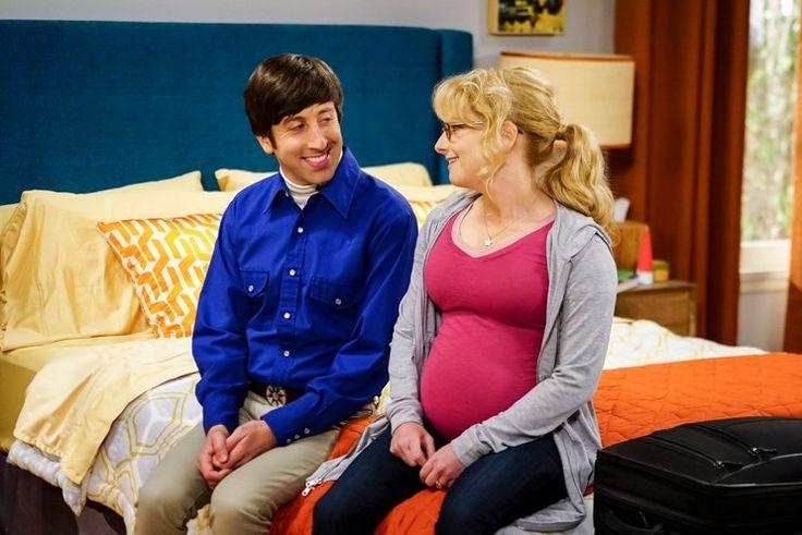 The Big Bang Theory, series 10, Melissa Rauch (Bernadette) artificial bump #Moonbump