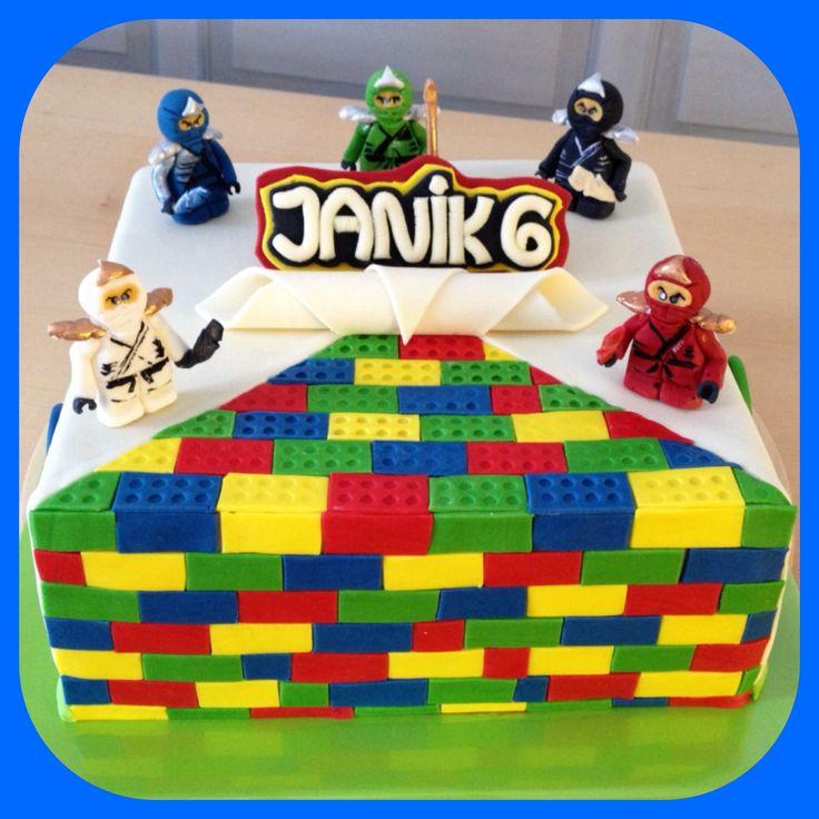 Lego cake, Lego Torte