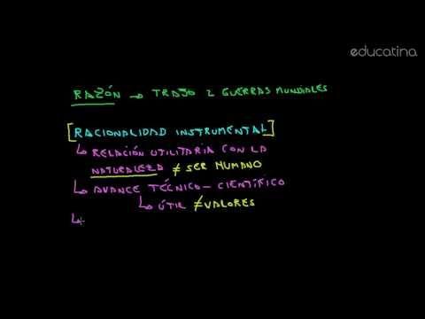 Escuela de Frankfurt: La Racionalidad crítica - Sociología - Educatina - YouTube