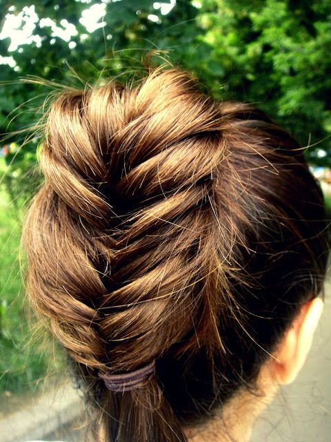 How to: Fishtail Braid for Medium Length Hair