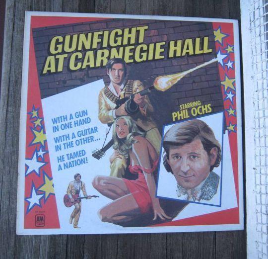 Canada-only Phil Ochs Vinyl LP Gunfight at Carnegie Hall~Rare 1960s Protest/Folk #PoliticalFolk1960sFolkMusic