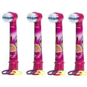 From 13.00 Oral-b Stages Power Princess - Replacement Brush Heads (1 Pack = 4 Pieces)