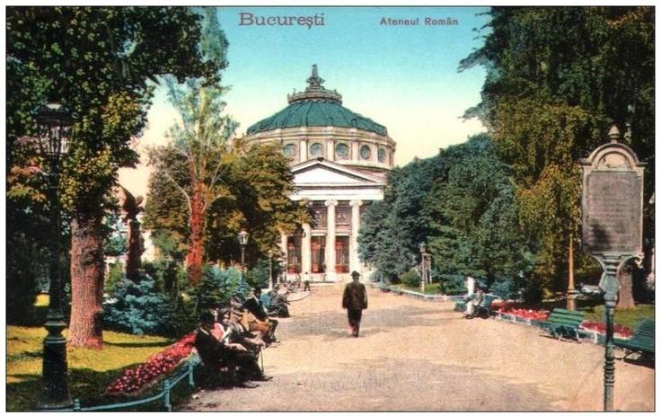 Bucuresti - Ateneul Roman - interbelica