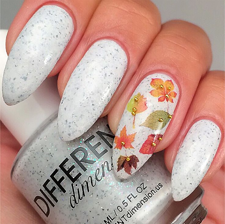32 best Autumn Leaves & Nature Nail Art Decals images on Pinterest ...