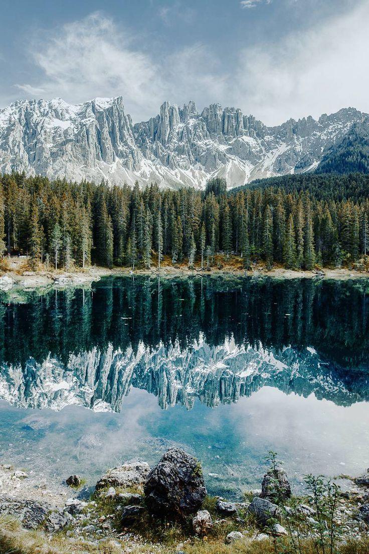 Carezza Lake by Guerel Sahin