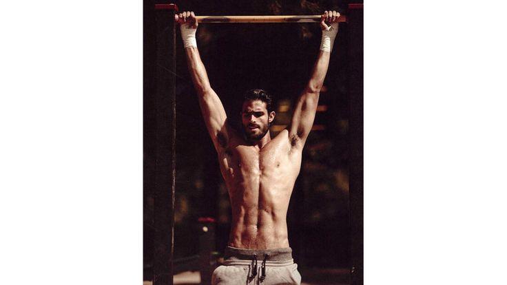 Su cuerpo atlético lo consigue a base de gym 5 veces a la semana