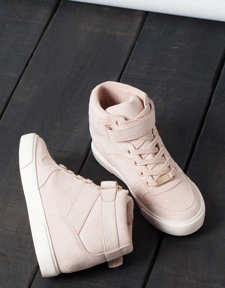Tennis compensées BSK - Chaussures - Bershka France