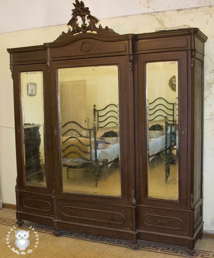 armadio antico stile luigi filippo dorléans