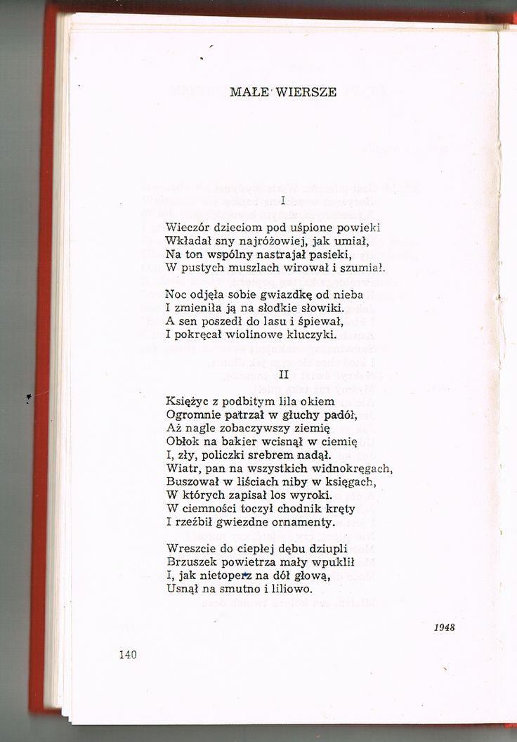 Stanisław Lem,  Wiersze Młodzieńcze