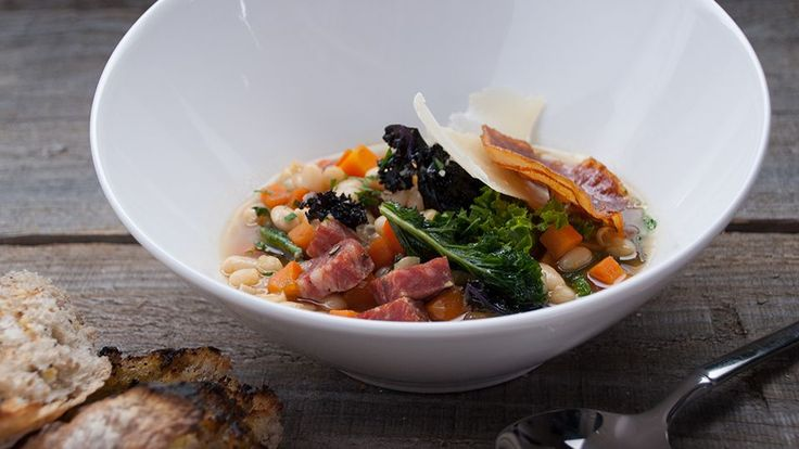 Tuscan Bean Soup by Vanessa Gianfrancesco