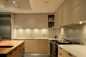 Compact Fluorescents Under Cabinets Or LED Under Cupboard Lights