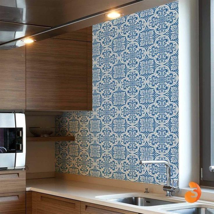 Adesivo adesivo azulejo adesivo azulejo portugu s lisboa for Azulejos decorativos