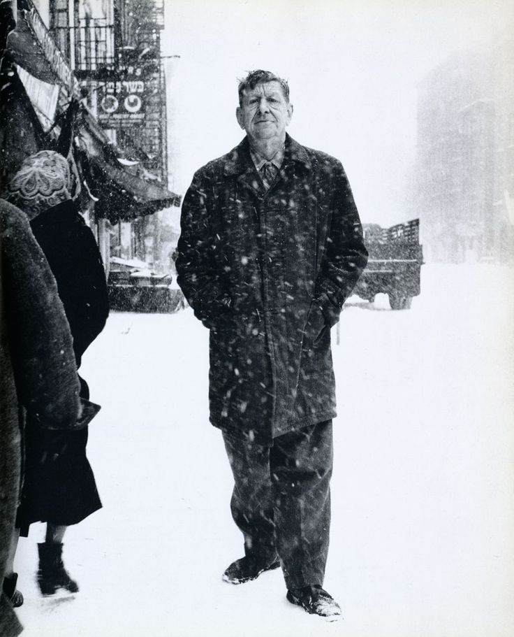 Richard Avedon    W.H. Auden, poet, St. Marks Place    New York City, March 1960    From The New York School: Photographs, 1936-1963
