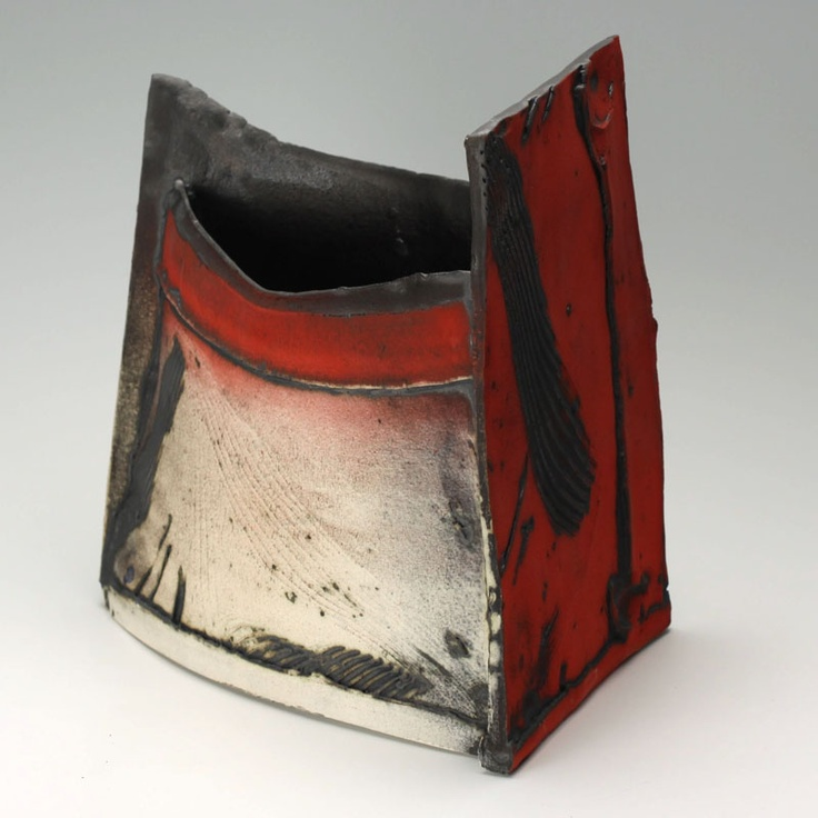 £340.00 (sold- so someone paid that!) Slab forms from thrown sections | Our Artists | Online Ceramics