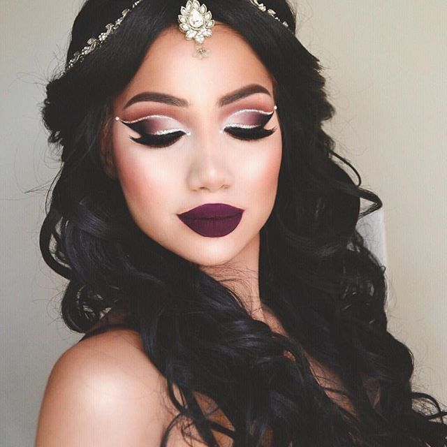 Arabian nights and the most hypnotic cut crease