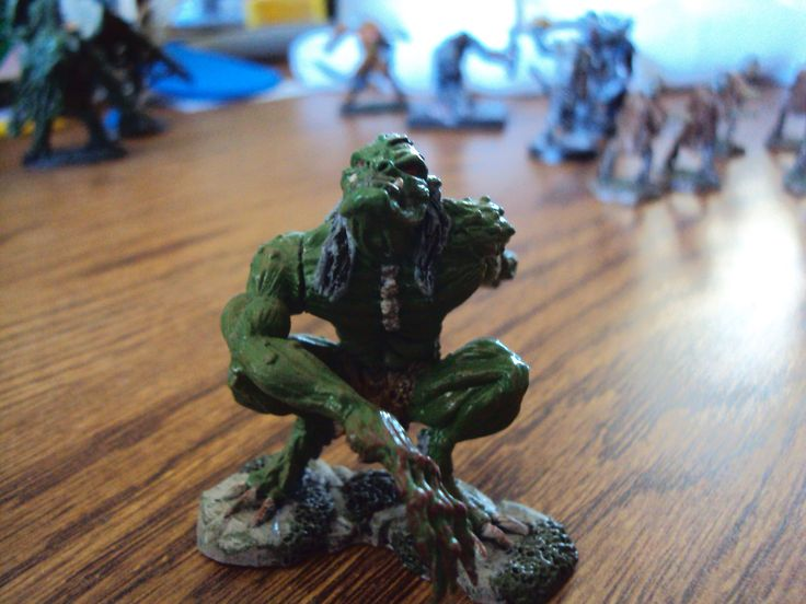 Troll figure that I painted.