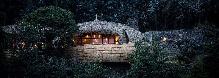 wilderness safaris opens six luxury villas in rwanda with domed, thatched roofs