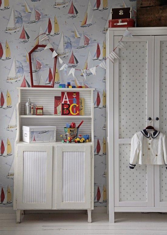 Childrens room vintage style