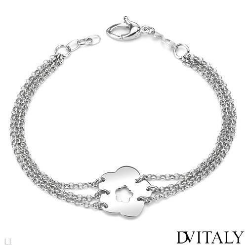 DV ITALY Wonderful Bracelet Beautifully Crafted in 925 Sterling silver. Total item weight 8.9g Length 8in DV ITALY. $36.00