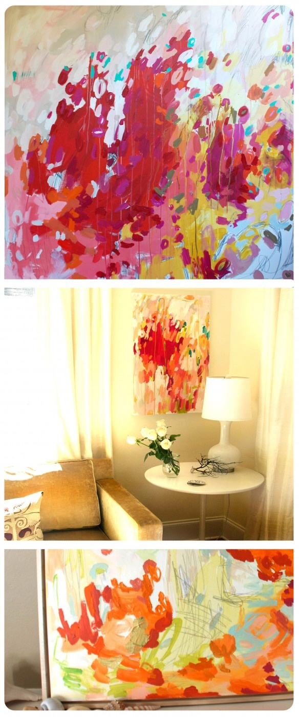 Felix murillo lleno de colores painting acrylic artwork fish art - Artist Focus Michelle Armas