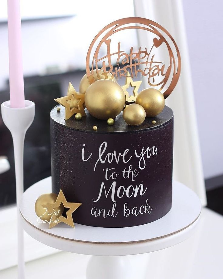 Birthday Cake For Women Elegant, Elegant Birthday Cakes, Beautiful Birthday Cakes, Birthday Cakes For Women, Cakes For Men, 22nd Birthday Cakes, Birthday Cake For Husband, Special Birthday Cakes, Chocolate Birthday Cake Decoration
